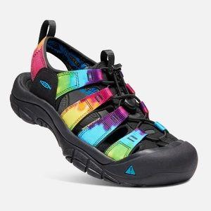 KEEN | Newport Retro Tie Dye Hiking Sandals Sz 6